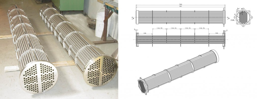 طراحی ساخت انواع مبدل گرمایی