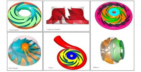 طراحی تجهیزات دوار به کمک نرم افزار CF-TURBO