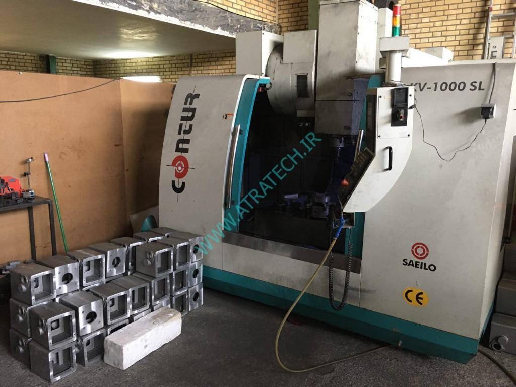 ماشینکاری قطعات روتین - دستگاه فرز شرکت آترا